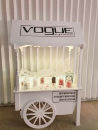 branded sweet cart candy cart aylin sweets.