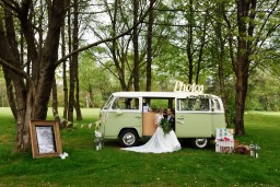 Campervan photobooth hire