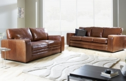 Abbey Leather Sofa