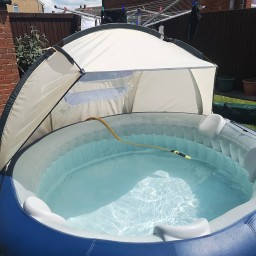 The New York Lay-z Spa Hire by SwindonHot Tub Hire