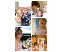 Ellie & Adz's wedding 💜
