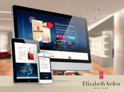 Elizabeth Arden Single Product Website