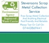Stevensons scrap metal collection service