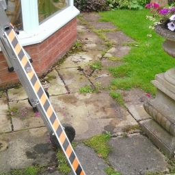 Conservatory and patio cleaning and patch pointing .