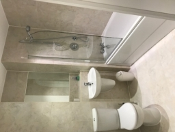 Large Bathrooms and shower facilities as well