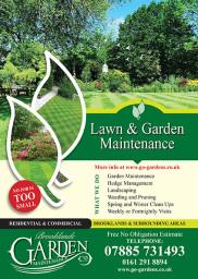 Brooklands Garden Maintenance Leaflet