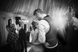 first dance at Gloucestershire wedding reception