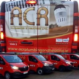 ACR Plumbing and Heating Vans