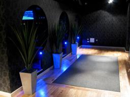 stunning walkway upper lighting installation londo