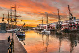 Philip Clark Bristol Sunrise 2