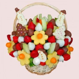 Christmas Gift Basket- Edible Bouquets