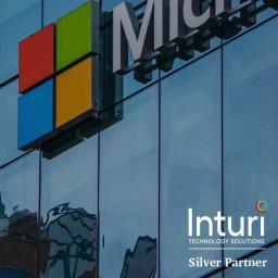 Inturi are a Microsoft Silver Partner