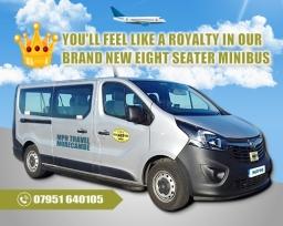 8 seater minibus taxi hire Morecambe & Lancaster