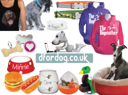Dog products and accessories at D for Dog