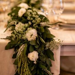 Floral Cascade Table Runner