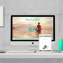 The Zen Den Template Website Design