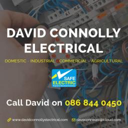 David Connolly Electrician, Boyle, Roscommon