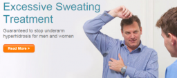 Excessive sweating - hyperhidrosis injections
