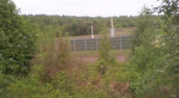 Fracking Ex Gedling pit site , stood there this time of year was very warm , great for winter camping .