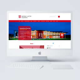 Royal Latin School Website Design