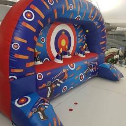 Inflatable Nerf Tag Shooting Range