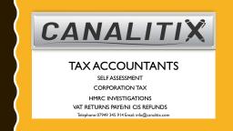 Canalitix Accountants