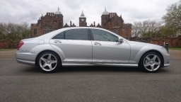 Mercedes S Class Long Wheel Base with reclining rear seats