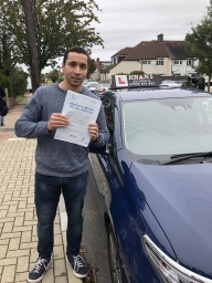 Passed 1st time in West Wickham