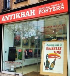AntikBar.co.uk original vintage Guinness poster