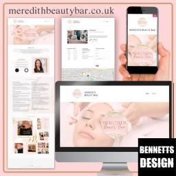 Meredity Beauty Website Design