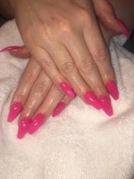 Nailzone Queen Street - Long Pink