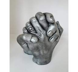 3d couples hand cast