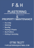 F & H Plastering & General Maintenance