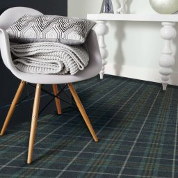 TARTANESQUE GLEN ETIVE CARPET ROOMSHOT MOSELEY INT