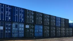 Secure Container Storage at Lillyhall, Workington