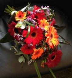 Vibrant wedding flowers