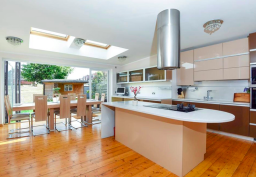 Decorating of kitchen for property in Wimbledon