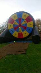 Large inflatable games available!