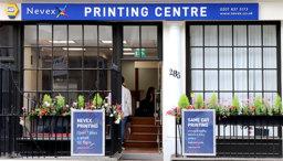 Nevex Printing, Kings Cross London