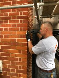 Tuckpointing restoration in London by S.J. Pointer