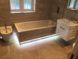 under bath tub lighting installation london IG3 9D