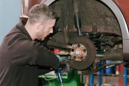Brake repair and pad replacement at Reedley Service Centre