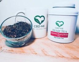 Hemp and Japanese Cherry Green tea