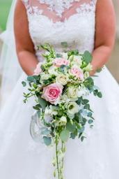 Trailing Bridal Bouquet