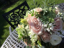 Wedding flowers by Flower Design. Ripon.