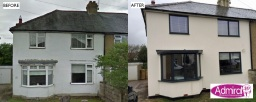 Aluminium windows fitted by Admiral Windows Oxford