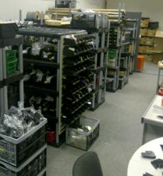 Spare Parts Storage @ Halstead Base
