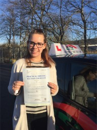 Passed driving test with Safe2go Driving School
