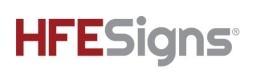 HFE Signs Registered Trademark
