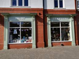 Exterior of Fairy Crafters, Woodhall Spa